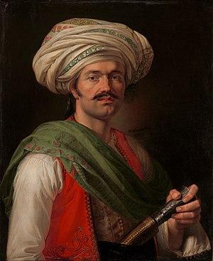 "Roustam Raza - ""Portrait of Roustam Raza, the mamluck of Napoleon"" by Horace Vernet, 1810"
