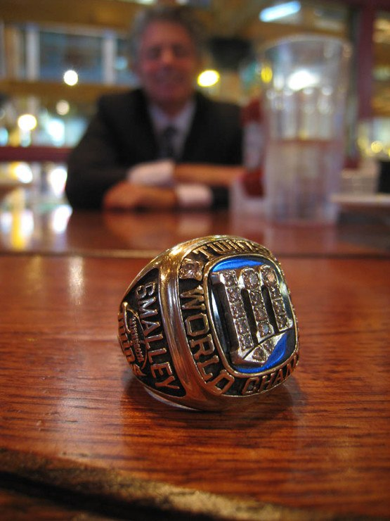 Roy Smalley Championship Ring