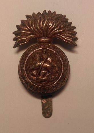Royal Northumberland Fusiliers - Cap badge of the Northumberland Fusiliers.