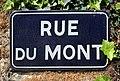 Rue du Mont (Belley), panneau de rue.jpg