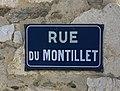 Rue du Montillet (Belley), panneau.jpg