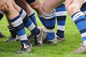 Rugby socks - Image: Rugby socks