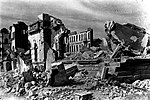 Ruins after the bombardment in Taihoku 1945.jpg