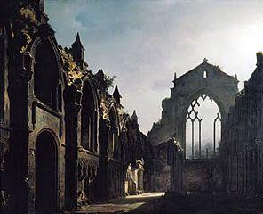 Ruines de la chapelle d'Holyrood