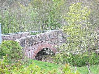 Hallrule village in United Kingdom
