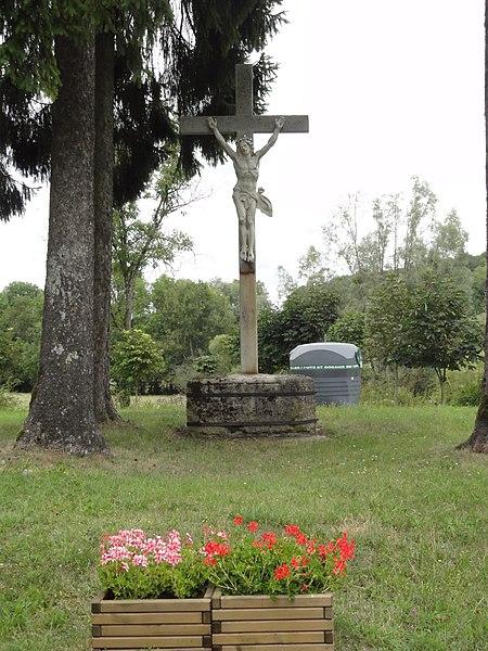 Rumont (Meuse) croix de chemin