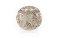 Rund relief av silver föreställande satyren Silenus(grekisk gud) - Skoklosters slott - 92206.tif