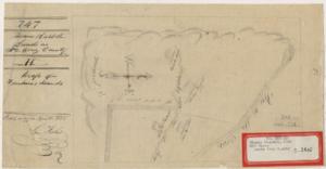 Rancho Potrero Y Rincon de San Pedro Regalado - Thomas Russell's 1855 diseño