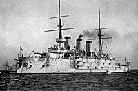 Russian battleship Pobeda on the Kronstadt roadstead 1901.jpg
