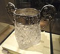 Russian ice bucket for Grand Duchess Olga, 1915, silver by I. P. Khlebnikov and Sons, cut glass by Iu. S. Nechaev-Mal'tsov - Royal Ontario Museum - DSC09487.JPG