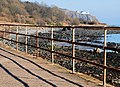 Rusty fence, Whitehead - geograph.org.uk - 1744841.jpg