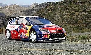 World Rally Car - Image: Sébastien Loeb 2009 Cyprus Rally
