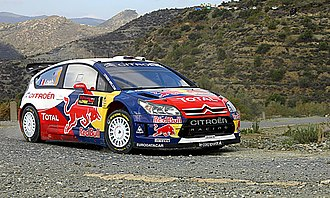 World Rally Car - Image: Sébastien Loeb 2009 Cyprus Rally