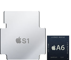 Apple S1 - Image: S1 A6 Comparison