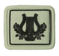 SANDF Qualification SACB Chief Musician badge embossed.png