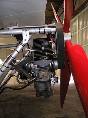 Px Sc B Neuform on 4 Stroke Ultralight Aircraft Engines
