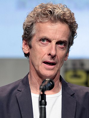 From The Doctor to my son Thomas - Image: SDCC 2015 Peter Capaldi (19671457231) cropped