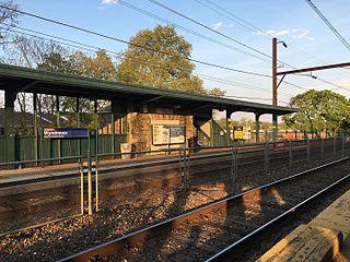 Wyndmoor station SEPTA Regional Rail station