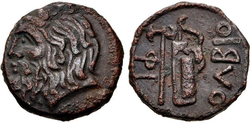 SKYTHIA, Olbia coin Circa 310-280 BCE