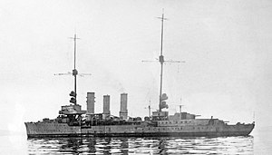 Cöln-class cruiser - Cöln in Scapa Flow
