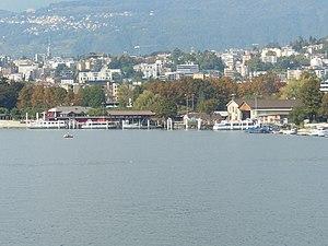 Società Navigazione del Lago di Lugano - The SNL shipyard at Cassarate.