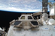 STS-135 EVA Cupola and Tranquility