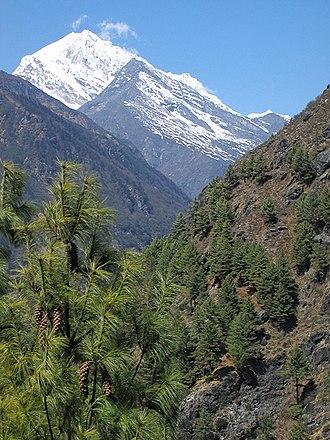 Sagarmatha National Park - Landscape in the national park