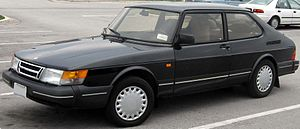 Saab 900 - Saab 900 3-door liftback (first generation)