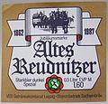Sachsenbräu Leipzig, Altes Reudnitzer Starkbier dunkel Etikett (DDR).jpg