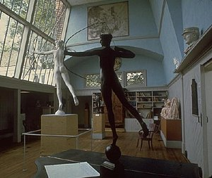 Cornish Art Colony - Studio at the Saint-Gaudens National Historic Site