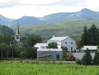 Charlevoix - Charlevoix is known for its hilly landscape