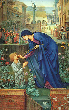 Saint Itta painting by Edward Burne-Jones.jpg
