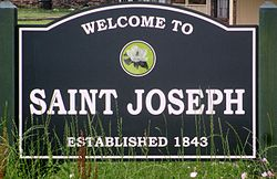 Saint Joseph, LA entrance sign (2013) IMG 7488 1.jpg
