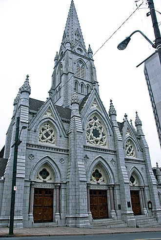 St. Mary's Basilica (Halifax) - Image: Saint Mary's Cathedral Basilica (Halifax)