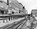 Salem Tunnel expansion, July 1957.jpg