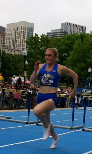 Sally Pearson - Pearson at the 2017 Boost Boston Games