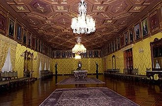 Carondelet Palace - The Yellow Hall or President's Hall.