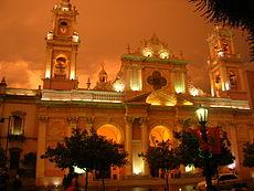 26 - Fachada de la Catedral de Salta (Argentina)