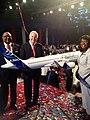 Sam Jones, Jo Bonner, and Terri Sewell at Airbus announcement in Mobile, Alabama.jpg