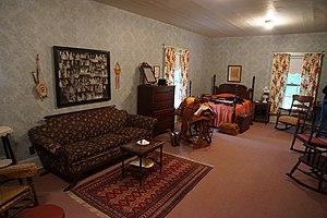 Sam Rayburn House Museum - Image: Sam Rayburn House Museum June 2017 13 (Sam Rayburn's bedroom)