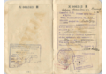 Sample visa issued by consul Konstanty Rokicki in Riga, 1935, and used for transiting to British Palestine.png
