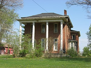 National Register of Historic Places listings in Knox County, Ohio - Image: Samuel Beers House