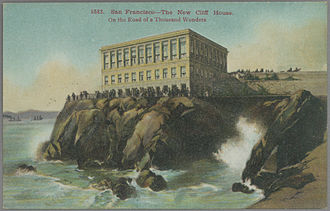 Cliff House, San Francisco - Fourth Cliff House, circa 1909