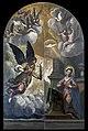 San Geremia (Venice) Annunciation by Palma il giovane 1628.jpg