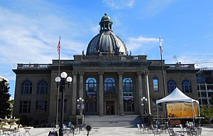 Redwood City, California - San Mateo County History Museum, formerly the San Mateo County Courthouse, originally built in 1910