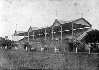 Club Atlético San Isidro - The football stadium in 1922.