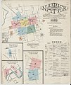 Sanborn Fire Insurance Map from Natick, Middlesex County, Massachusetts. LOC sanborn03801 001-1.jpg