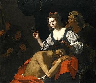 Hendrick de Somer - Samson and Delilah