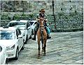 Santiago de Compostela. Cabaleiro pelegrino.jpg