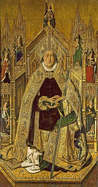 Santo Domingo de Silos (Bartolomé Bermejo).jpg